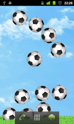 Bouncy Soccer Wallpaper FREE