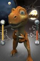 Screenshot of Talking dino, Chika