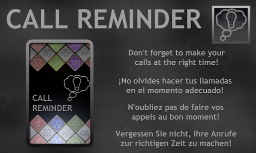 Call Reminder Lite