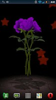 Screenshot of 3D Rose Bouquet Live Wallpaper