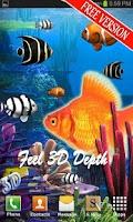 Screenshot of Galaxy Aquarium Live Wallpaper