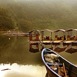 PERAHU GETEK by Aditya Ahmad - Transportation Boats