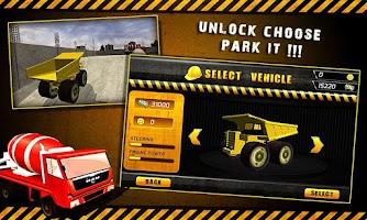 Screenshot of 3D Crane Parking Simulator-BIG