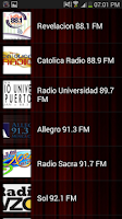 Screenshot of Radios FM Puerto Rico