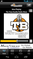 Screenshot of The Tony Basilio Radio Show