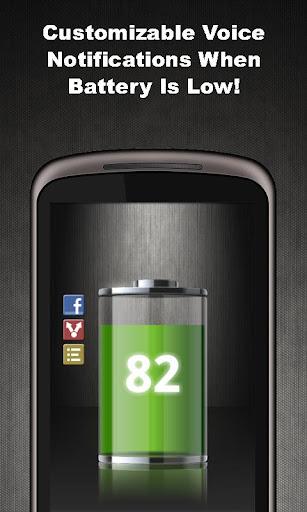 Talking Battery Widget Pro