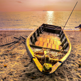 ' MOMENTARILY..' by Ahmad Zaini - Transportation Boats