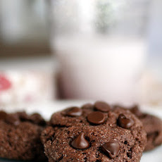 Gluten-Free Chocolate Cookies with Chocolate Chips
