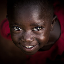 Happiness by Georgia Darlow - People Street & Candids ( child, uganda, kampala, smile, people, portrait, Emotion, human )