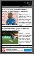 Screenshot of Palmeiras app não oficial