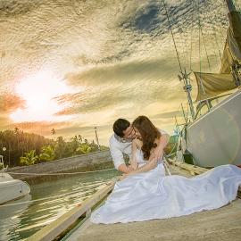summerwind by Rasul Leonor - Wedding Bride & Groom