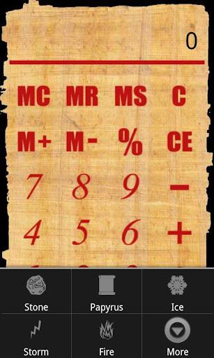 SD Calculator 3000 percentage