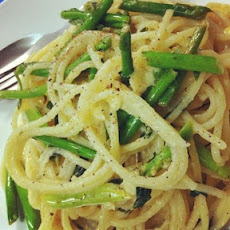 The Best Asparagus Lemon Pasta