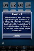 Screenshot of Apprenez l'espagnol
