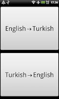 Screenshot of Hızlı Sözlük