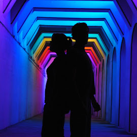 by Connie De Palma - People Couples ( Lighting, moods, mood lighting )