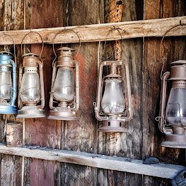 Bodie Lanterns by David Long - Artistic Objects Other Objects ( sierra nevada, ghost town, bodie )