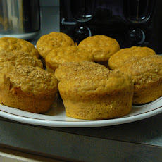 Pumpkin Oat Sunflower Seed Muffins, Low-Fat