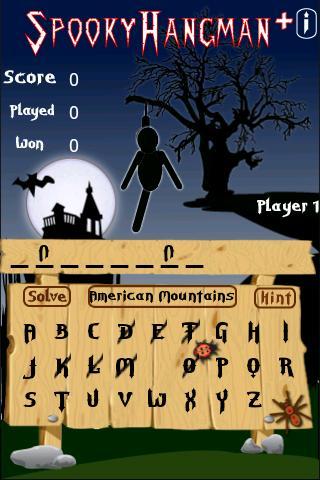 Spooky Hangman +