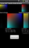 Screenshot of Porter-Duff Browser