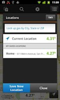 Screenshot of Gas Guru: Cheap gas prices