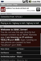 Screenshot of XBMC/Kodi Server (host) - Free