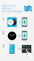Screenshot of Flat design clock R -MeClock