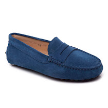 Tod's Suede Penny Loafer SHOES