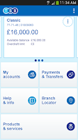 Screenshot of TSB Mobile Banking