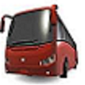Gold Cost Transit Bus Times icon