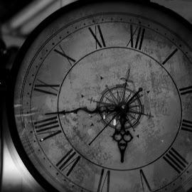 Antique clock by Prasanta Das - Artistic Objects Antiques ( clocks, antique, sale )