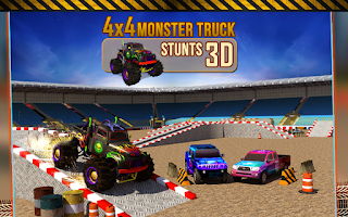 Screenshot of 4x4 Monster Truck Stunts 3D