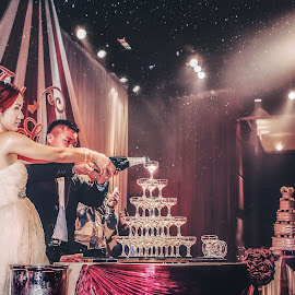 Receptiion by Xiiao Hua - Wedding Reception ( reception, wedding, bride, groom )