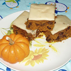 Pumpkin Squares With Browned Butter Frosting