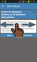 Screenshot of Burundi Newspapers