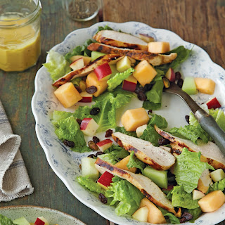 Grilled Chicken and Fruit Summer Salad