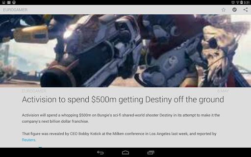 Amber RSS Reader - screenshot