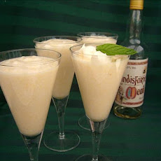 English Lindisfarne Mead and Apple Cream Pudding