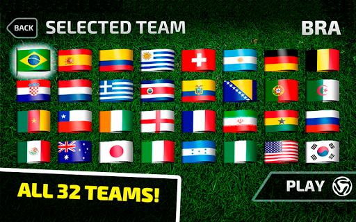 World Cup Brazil Soccer 2014 - screenshot