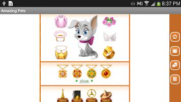 Screenshot of Amazing Pets - My Dog or Cat