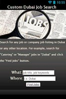 Screenshot of Jobs In Dubai: Job Search LITE