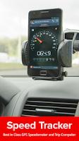 Screenshot of Speed Tracker, GPS speedometer