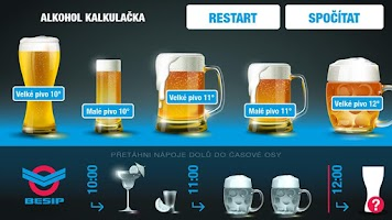 Screenshot of Alkohol kalkulačka