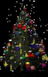 3D Xmas Tree - screenshot