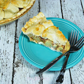 Cream Cheese Dulce de Leche Apple Pie