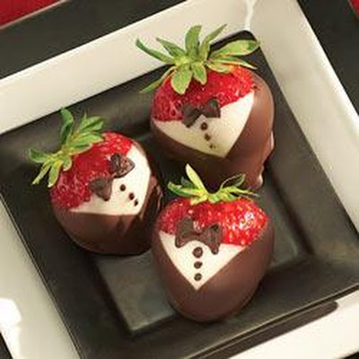 Tuxedoed Strawberries
