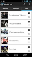 Screenshot of onTour - Concert Finder