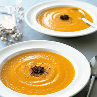 Carrot Soup with Star Anise