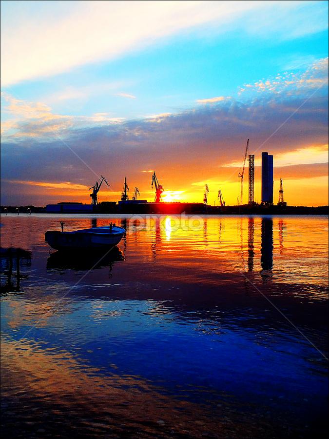 by Josip Kopčić - Landscapes Sunsets & Sunrises ( zalasci, waterscap, , colorful, mood factory, vibrant, happiness, January, moods, emotions, inspiration, golden hour, sunset, sunrise, #GARYFONGDRAMATICLIGHT, #WTFBOBDAVIS )
