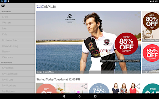 Screenshot of Ozsale